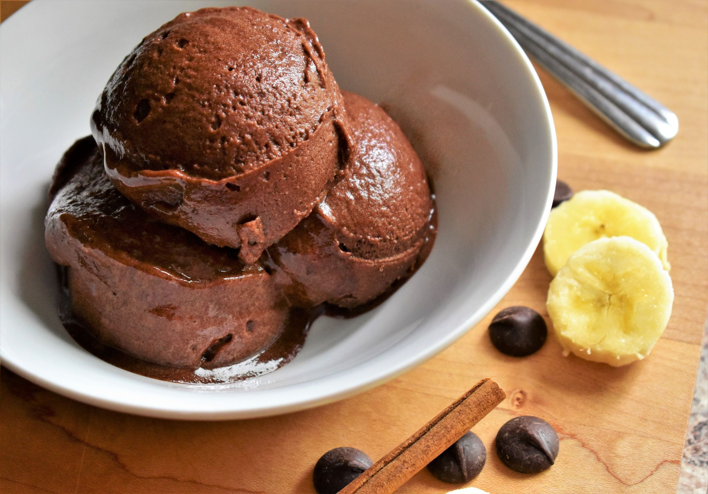 Banana-Cinnamon Chocolate Sorbet Kim