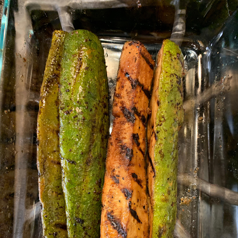 Marinated Grilled Zucchini Chris