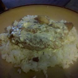 Sour Cream Pork Chops