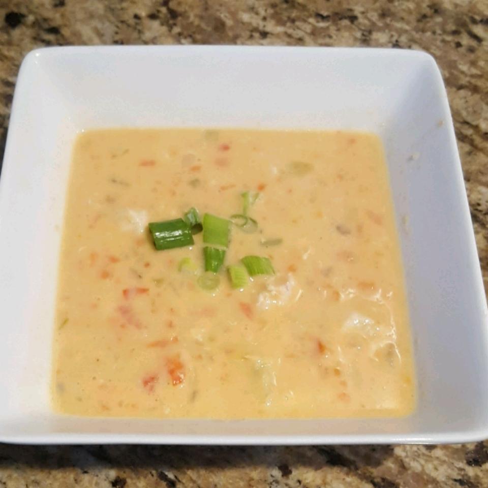Cream of Chicken and Artichoke Soup