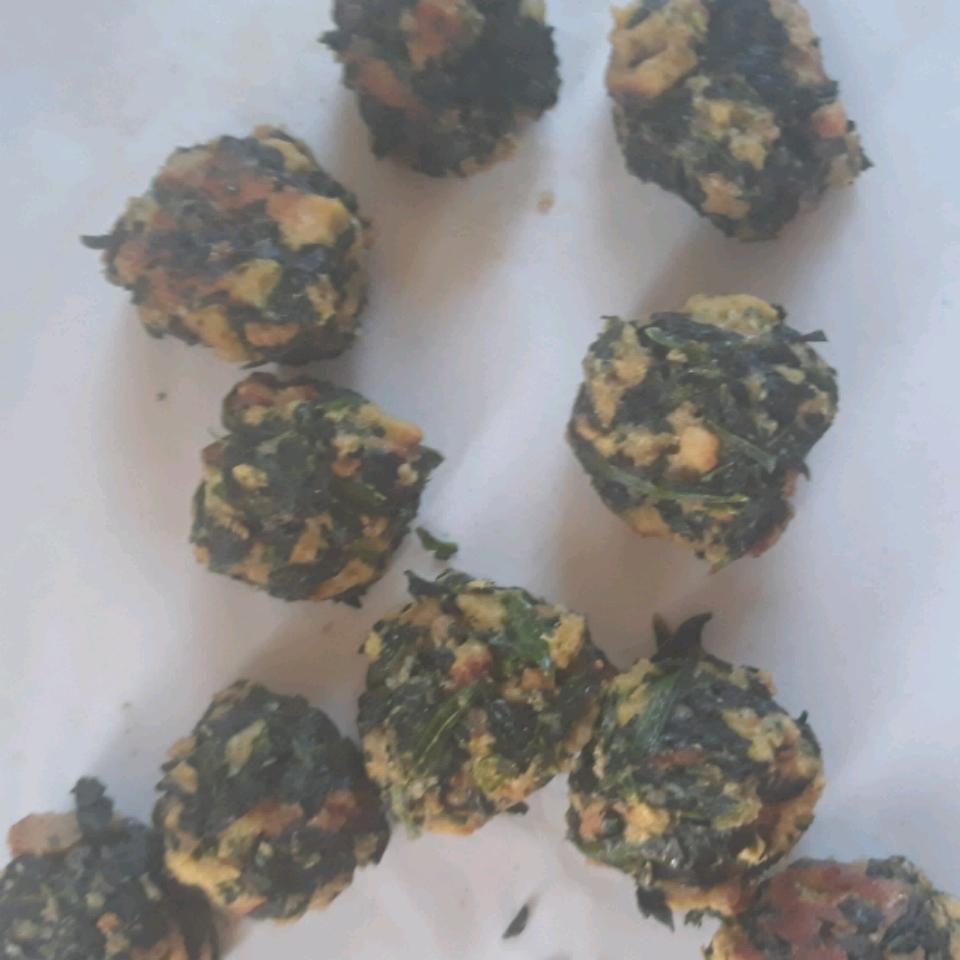 Parmesan Spinach Balls Greg Mayo