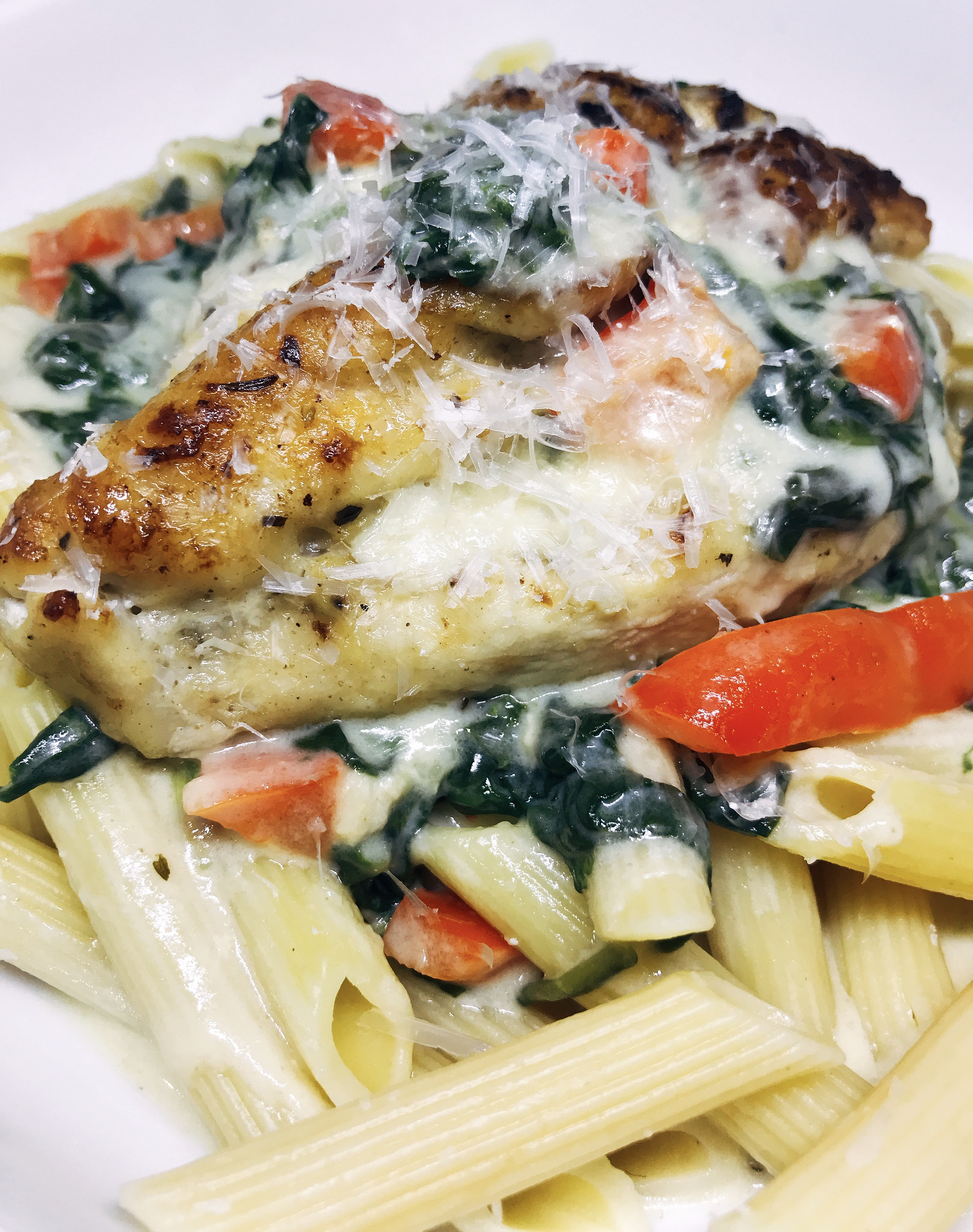 Easy Instant Pot® Tuscan Chicken