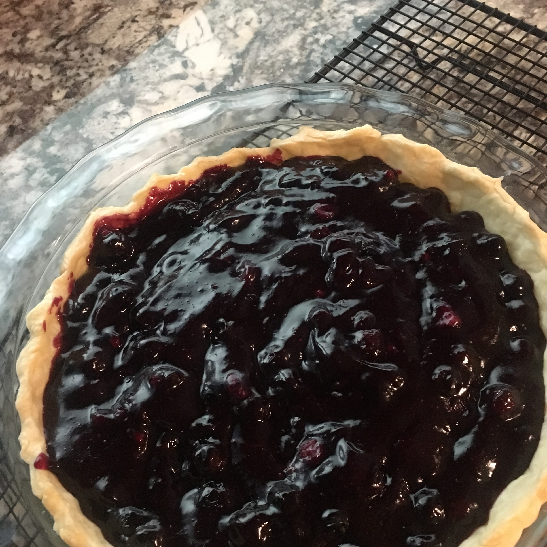 Fresh Blueberry Pie III jojo