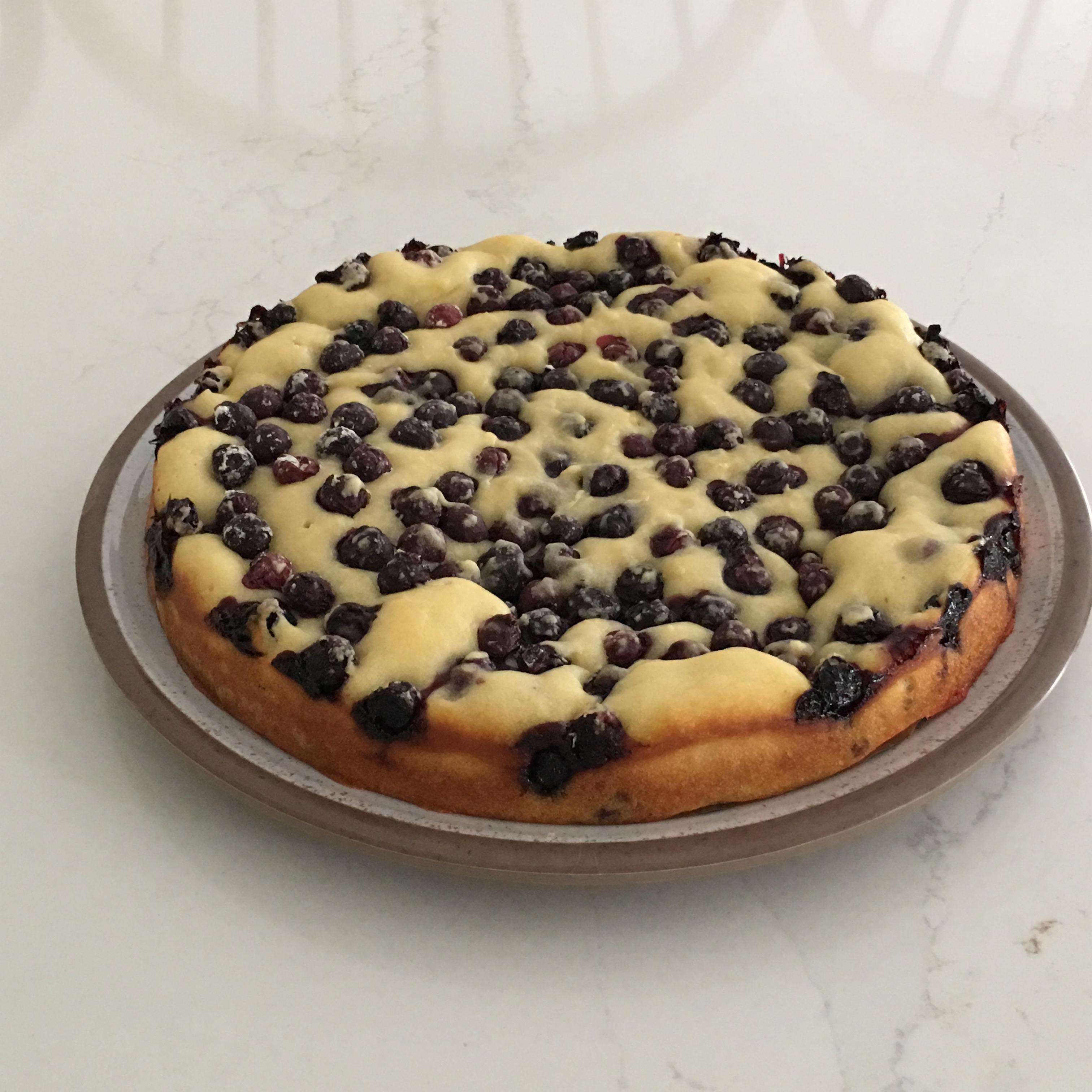 Fresh Blueberry-Lemon Cake
