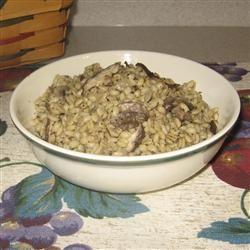 Byrdhouse Mushroom Barley Pilaf