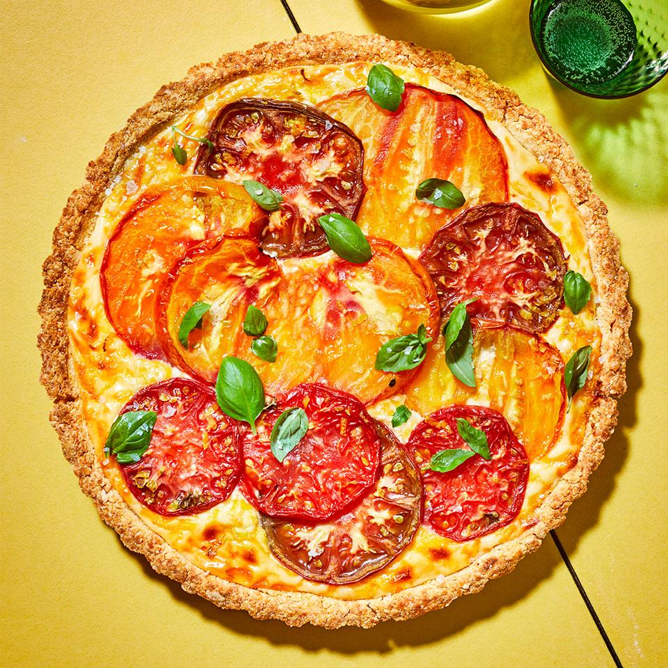 Tomato Tart Robin Bashinsky