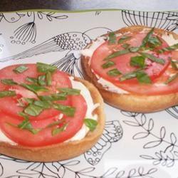 Queenie's Killer Tomato Bagel Sandwich Deb C