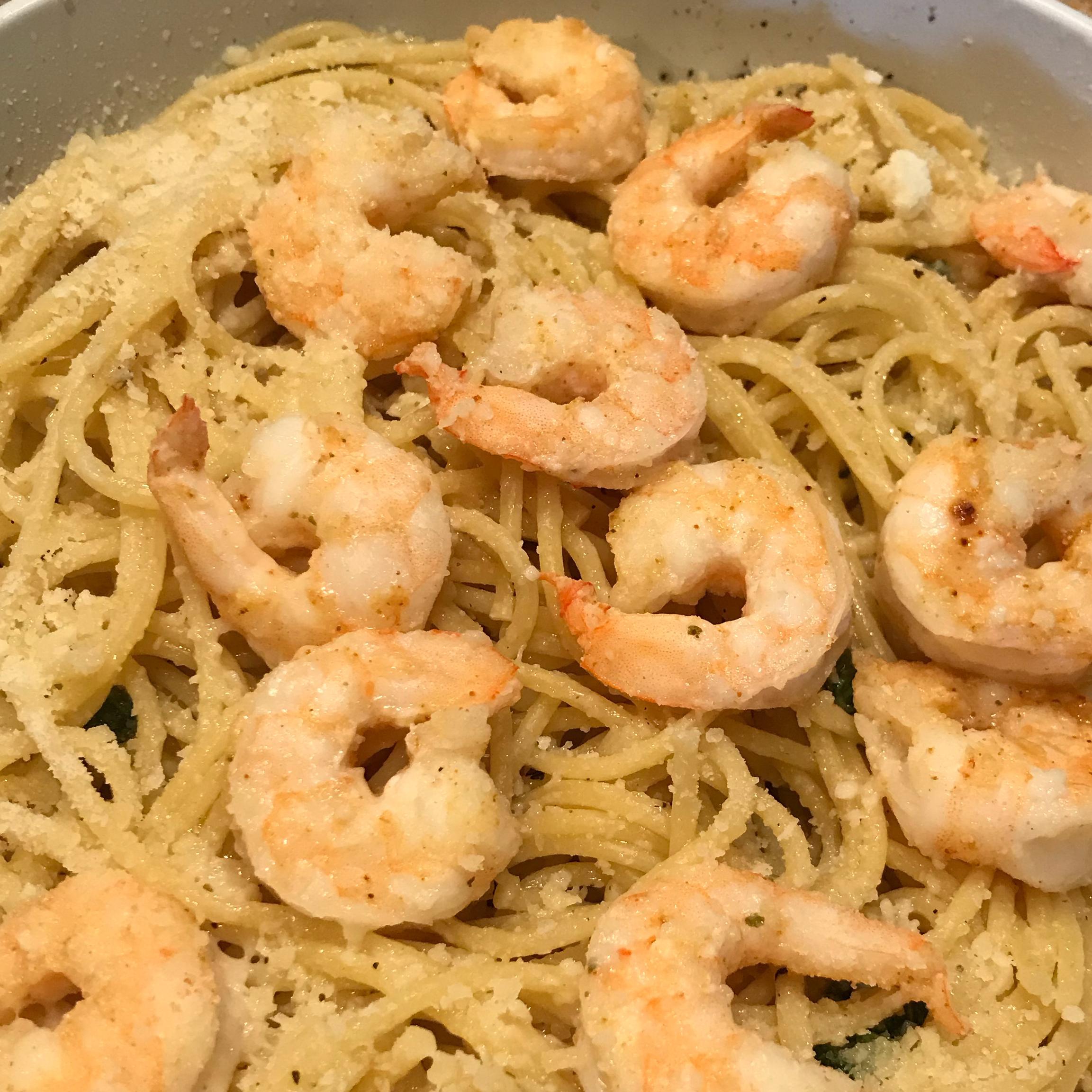 Spaghetti with Garlic and Basil Michelle