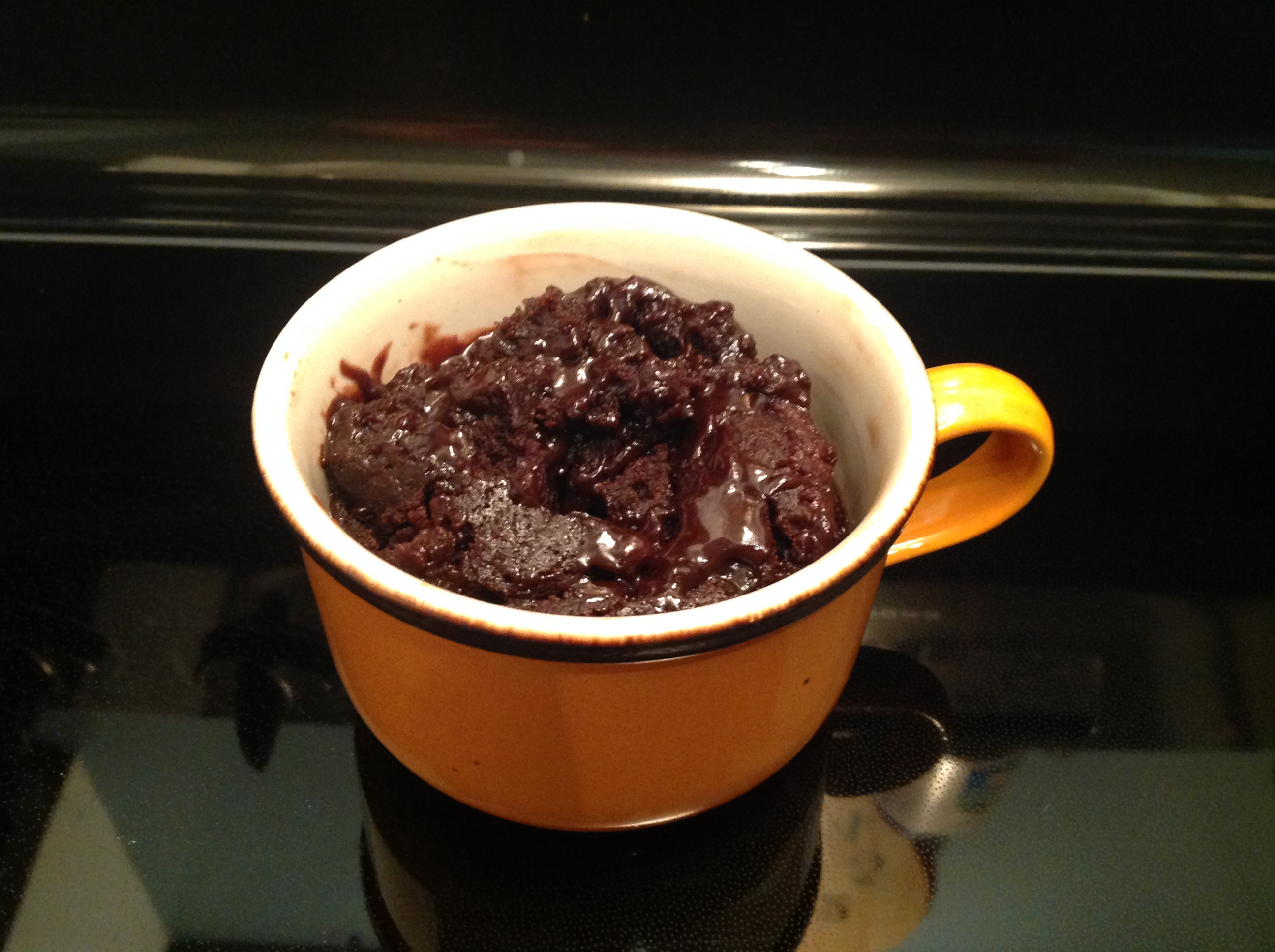 Quick Brownie in a Mug