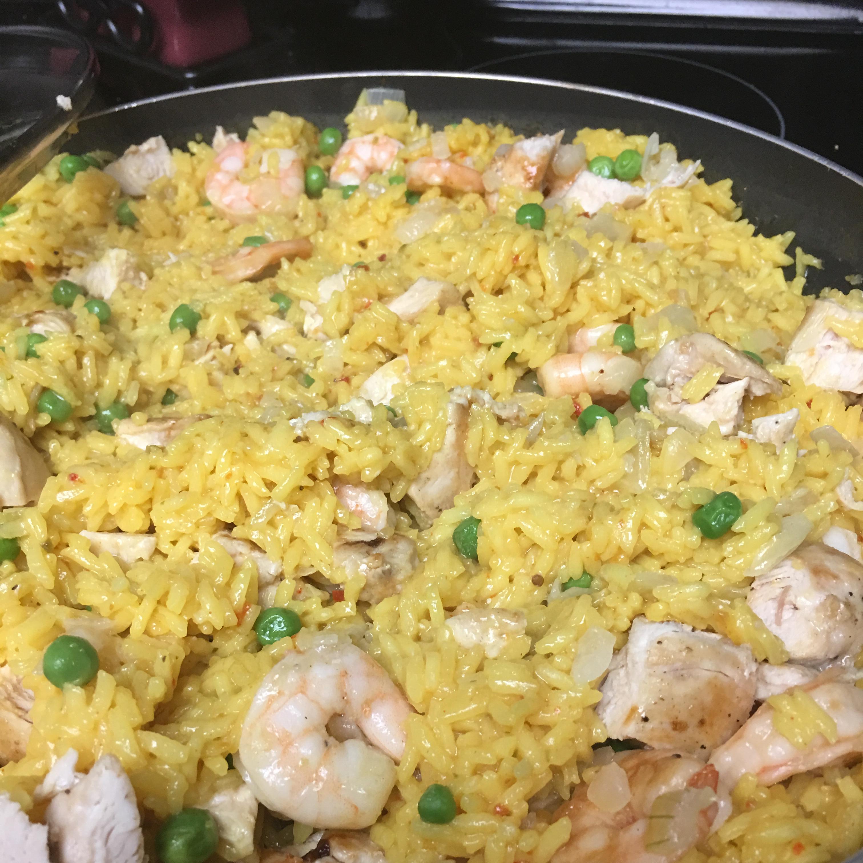 Yellow Rice with Meat Pamela Little-Appleton