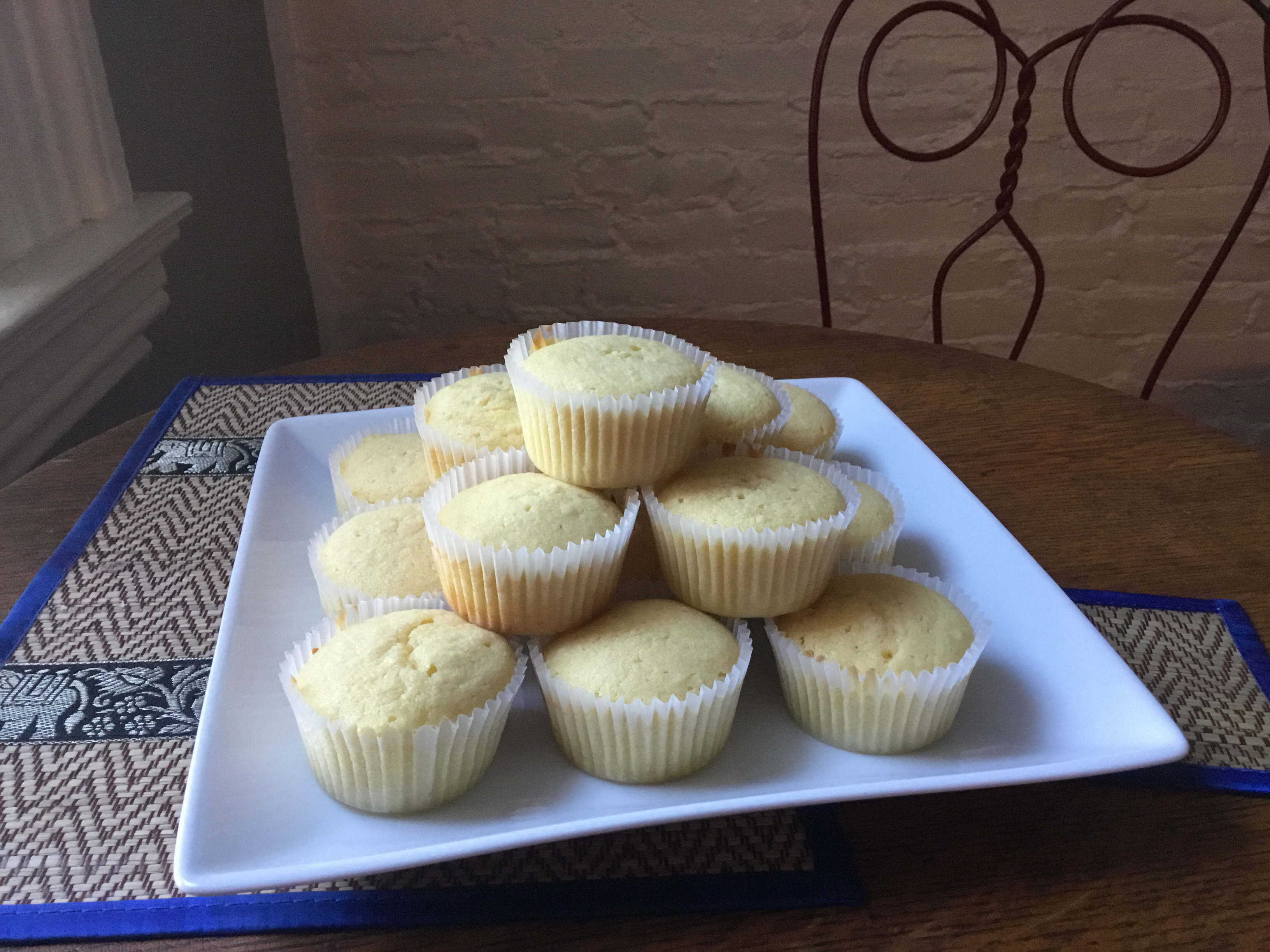 Vanilla Cupcakes with Swiss Meringue Buttercream Emma Ann