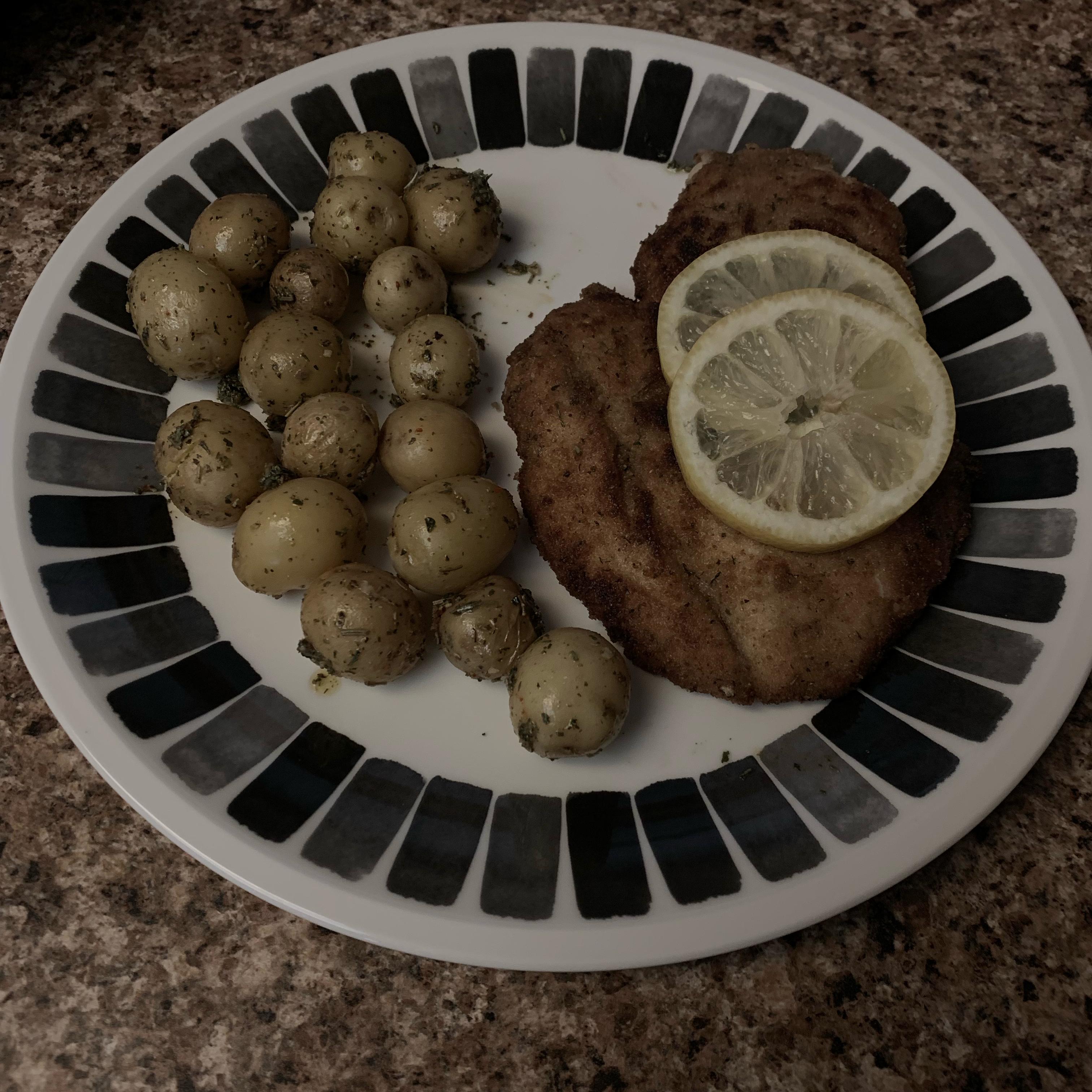 Amazingly Tasty and Crispy Chicken Schnitzel Corbett701