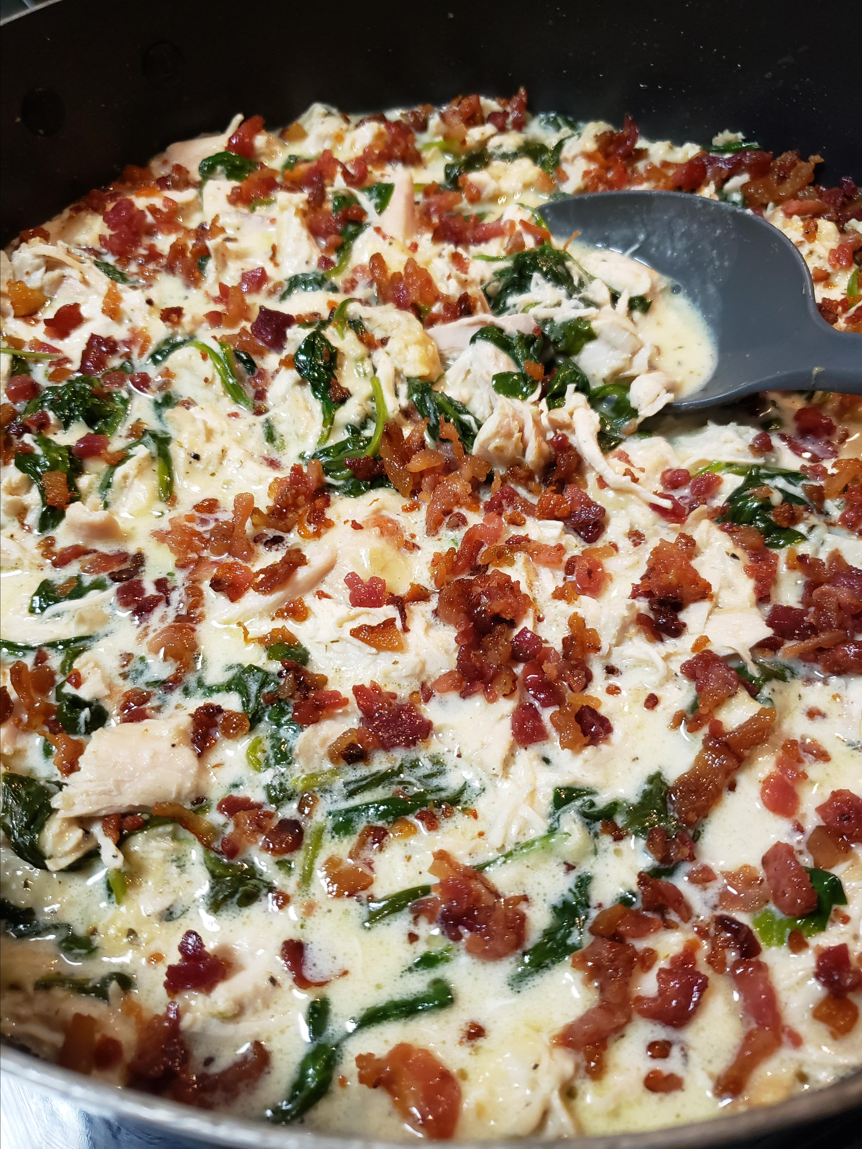 Spinach and Bacon Chicken tcrichburg