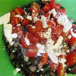 Warm Swiss Chard and Mushroom Salad Meggan Futey Pasqualla