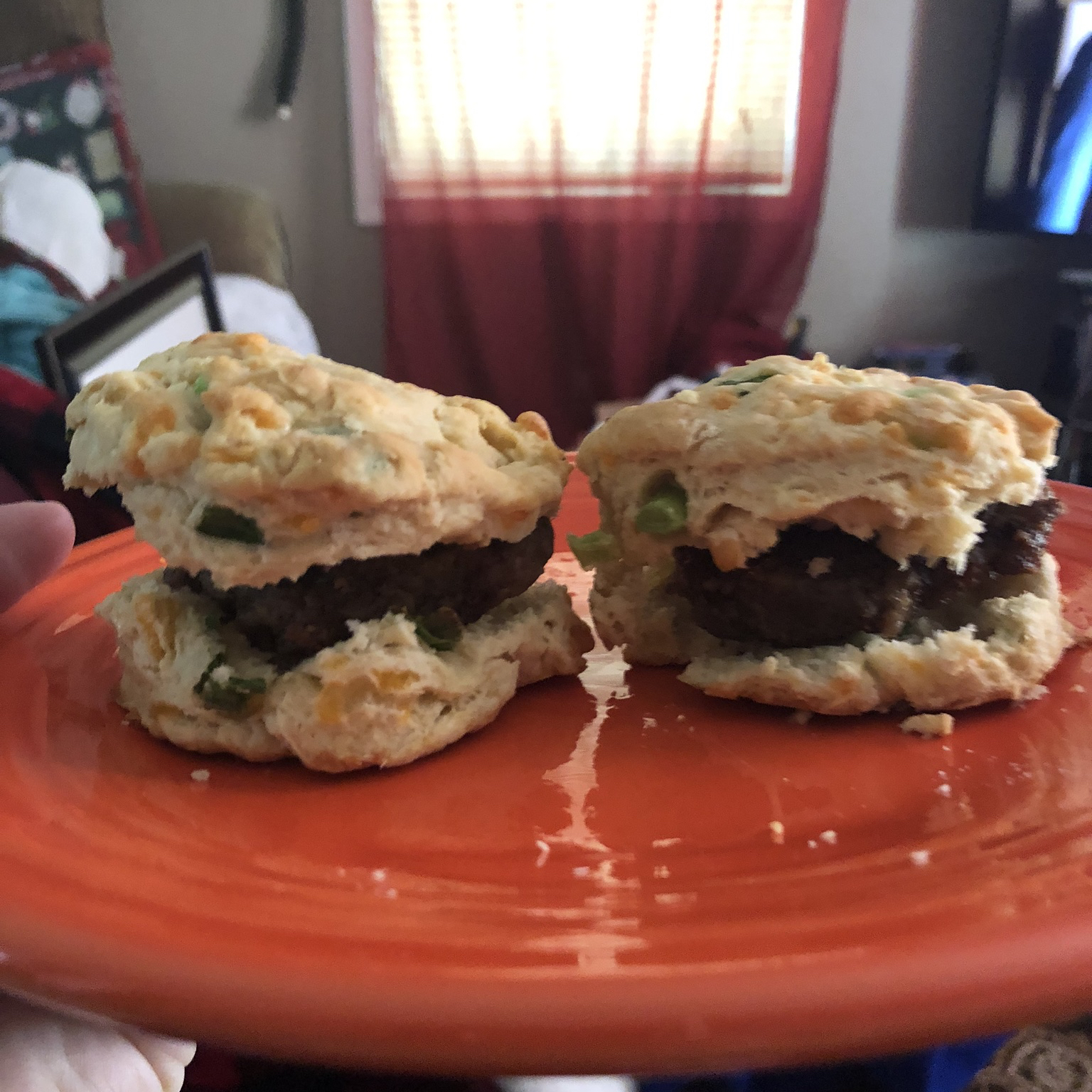 Irish Cheddar Spring Onion Biscuits Brooke Nolley Wolf