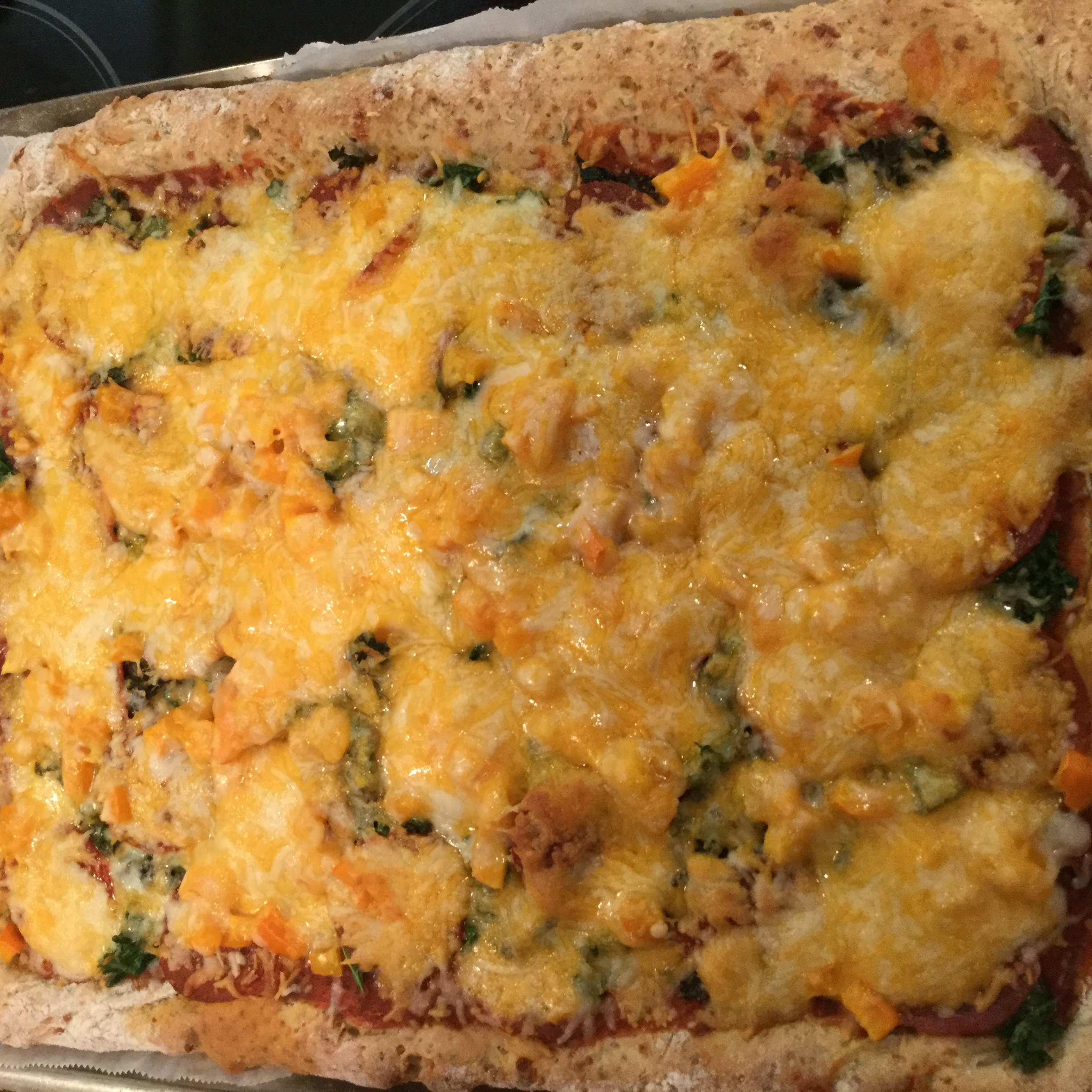 Gluten-Free Cheese and Herb Pizza Crust