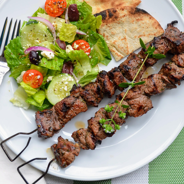 Lamb Souvlaki Kim's Cooking Now