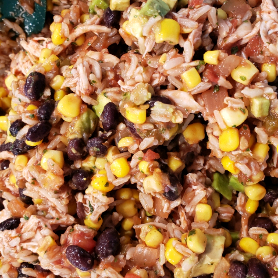Mexican Chicken and Rice Salad Heather Finn-Brady
