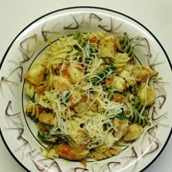 Fresh Tomato Shrimp Pasta nursev