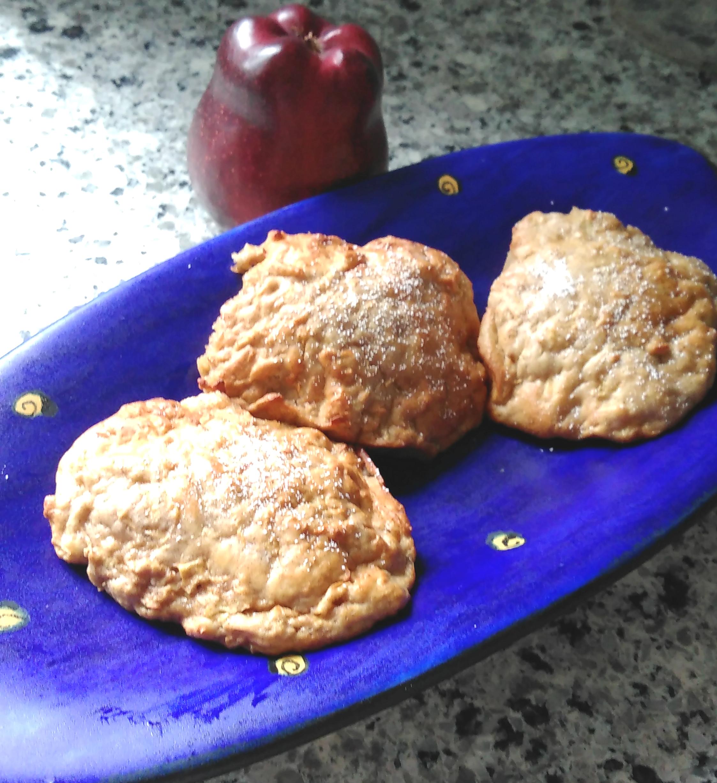 Air Fryer Apple Cookies