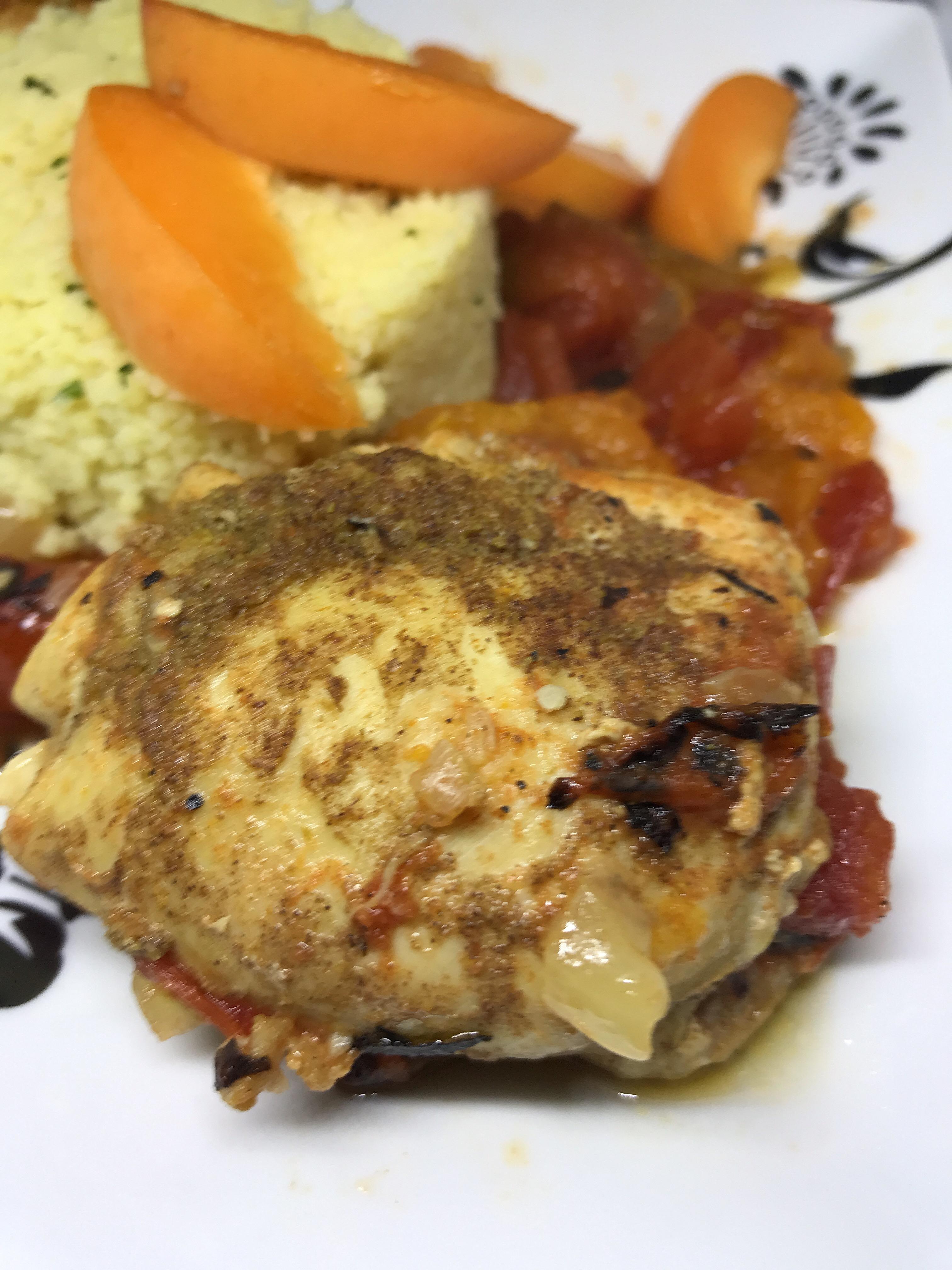Instant Pot® Apricot Chicken Tagine