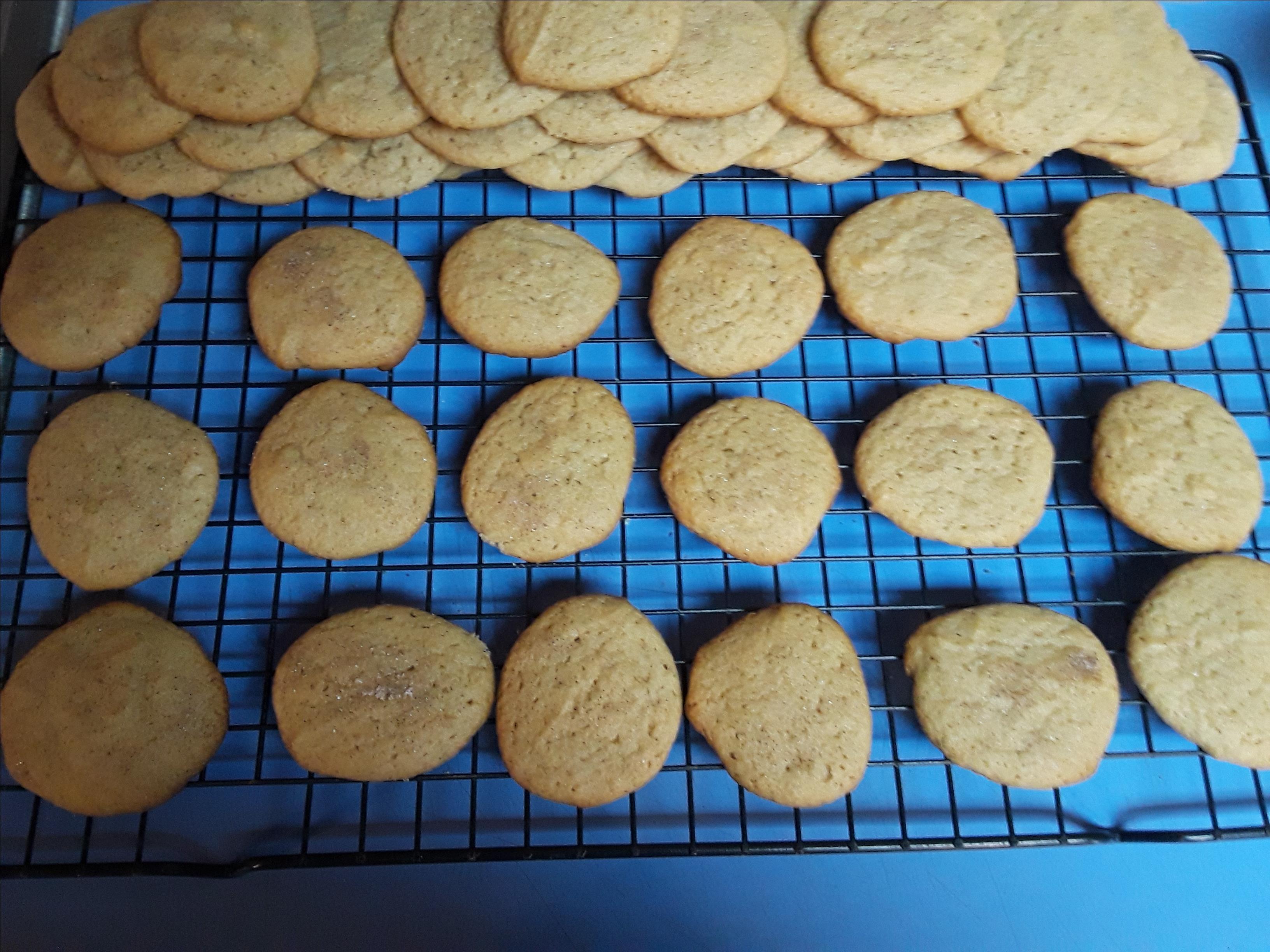 Honey Cinnamon Cookies Ann Ruehle