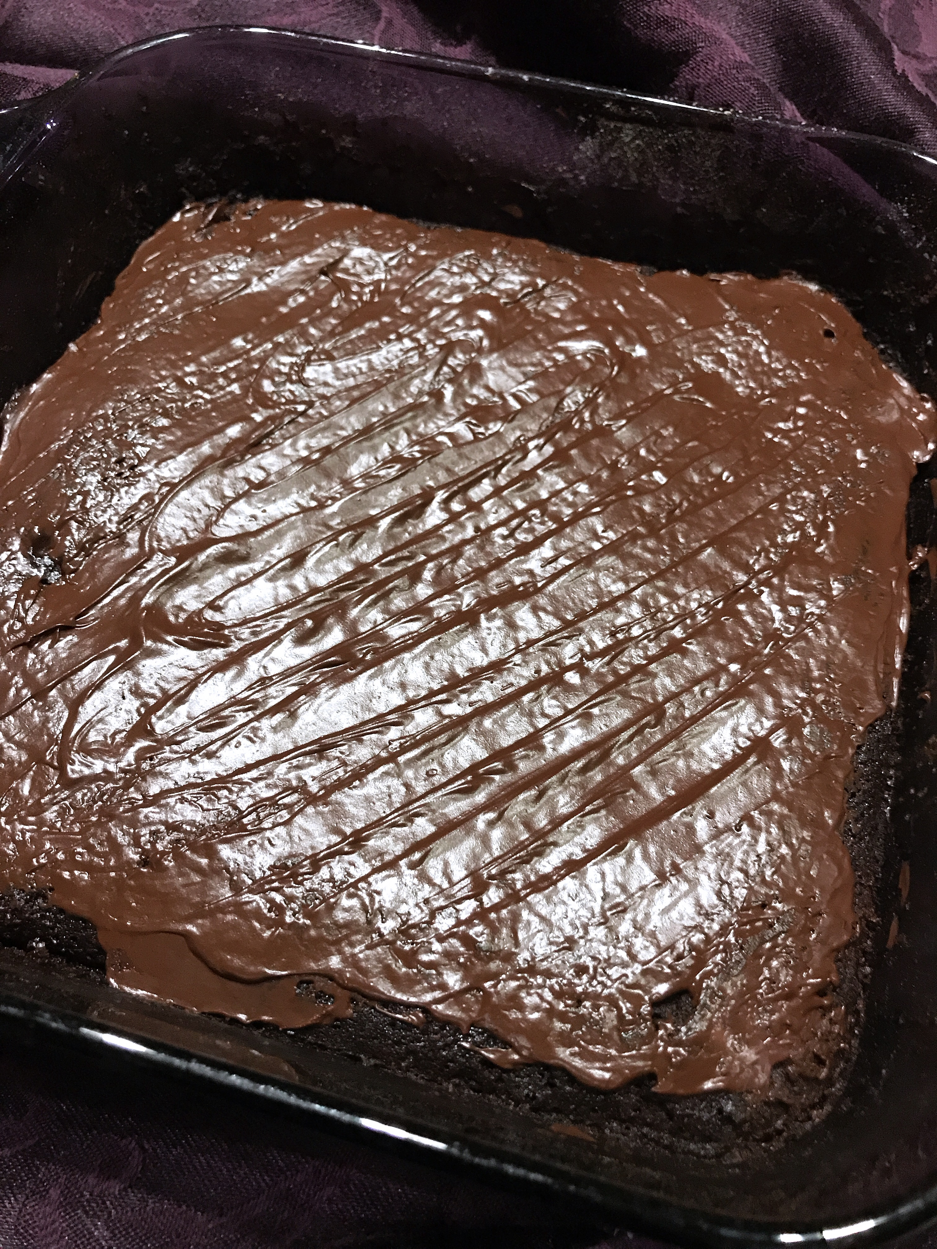 Bourbon Brownies thedailygourmet