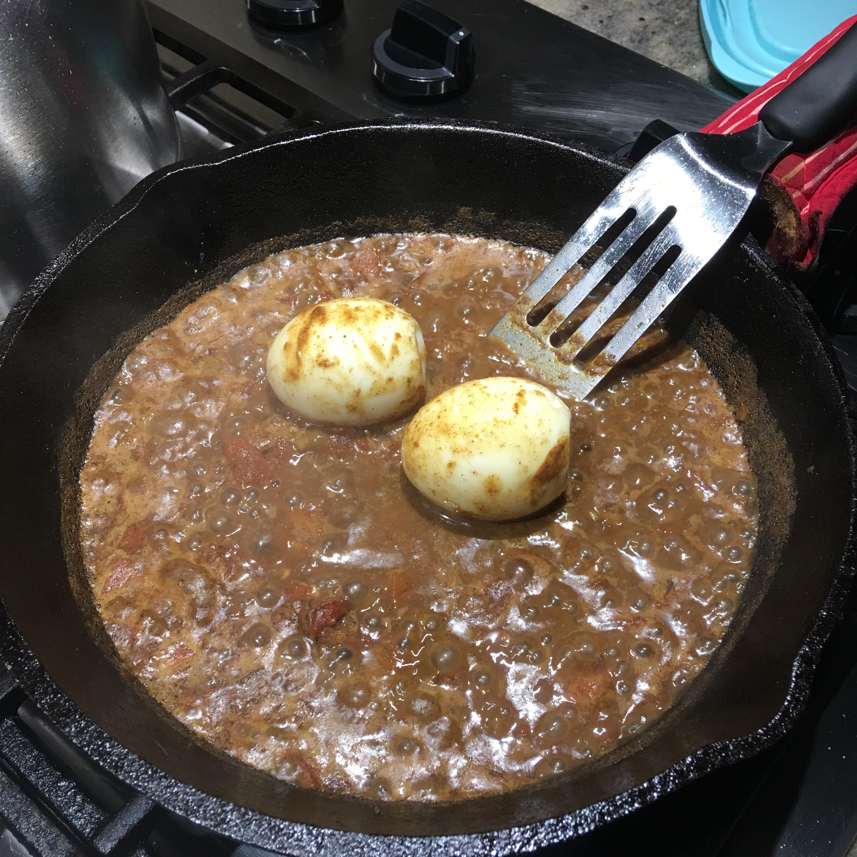 Easy Healthy Egg Kulambu