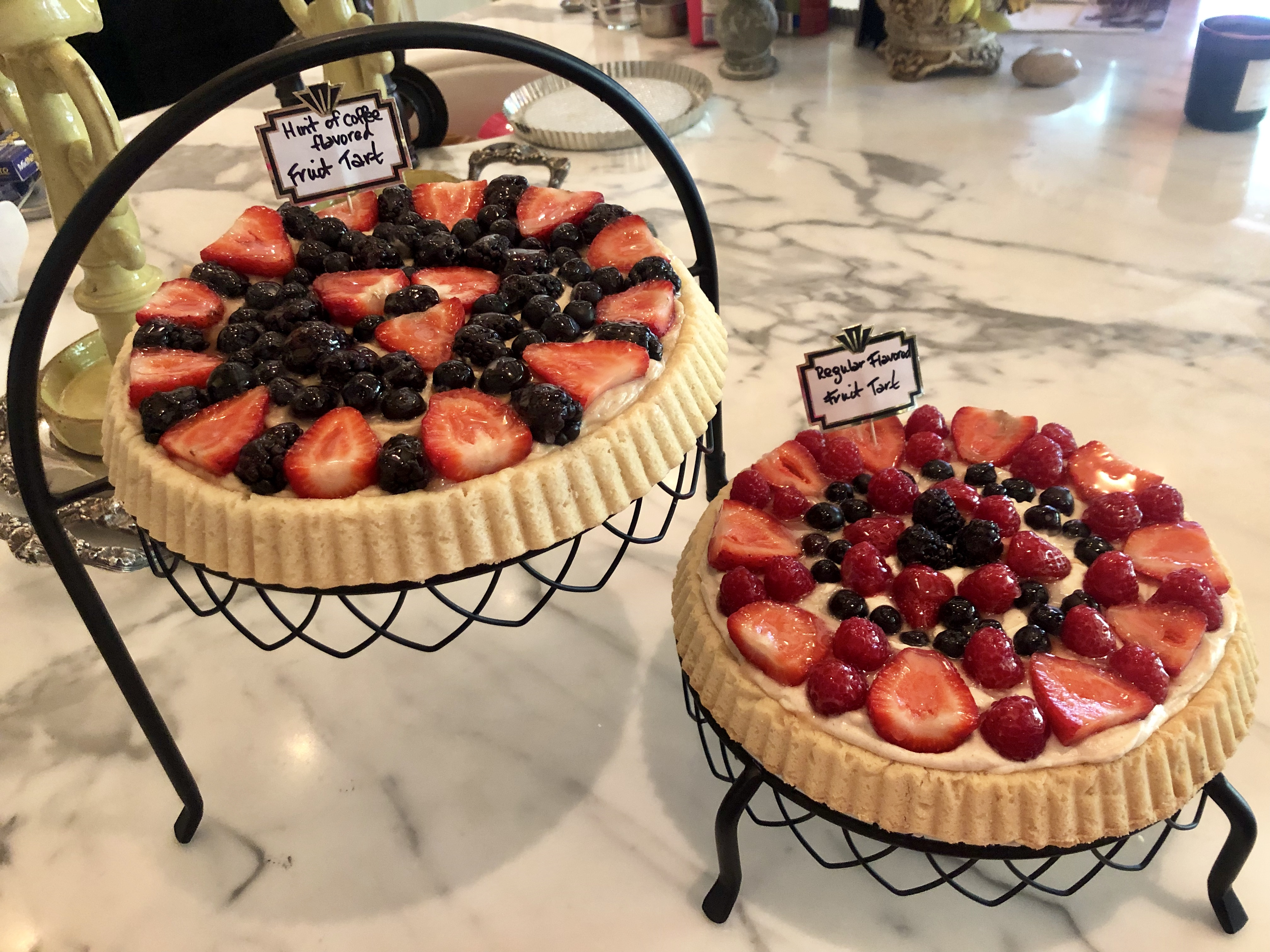 Fresh Fruit Tart with Mascarpone Christie