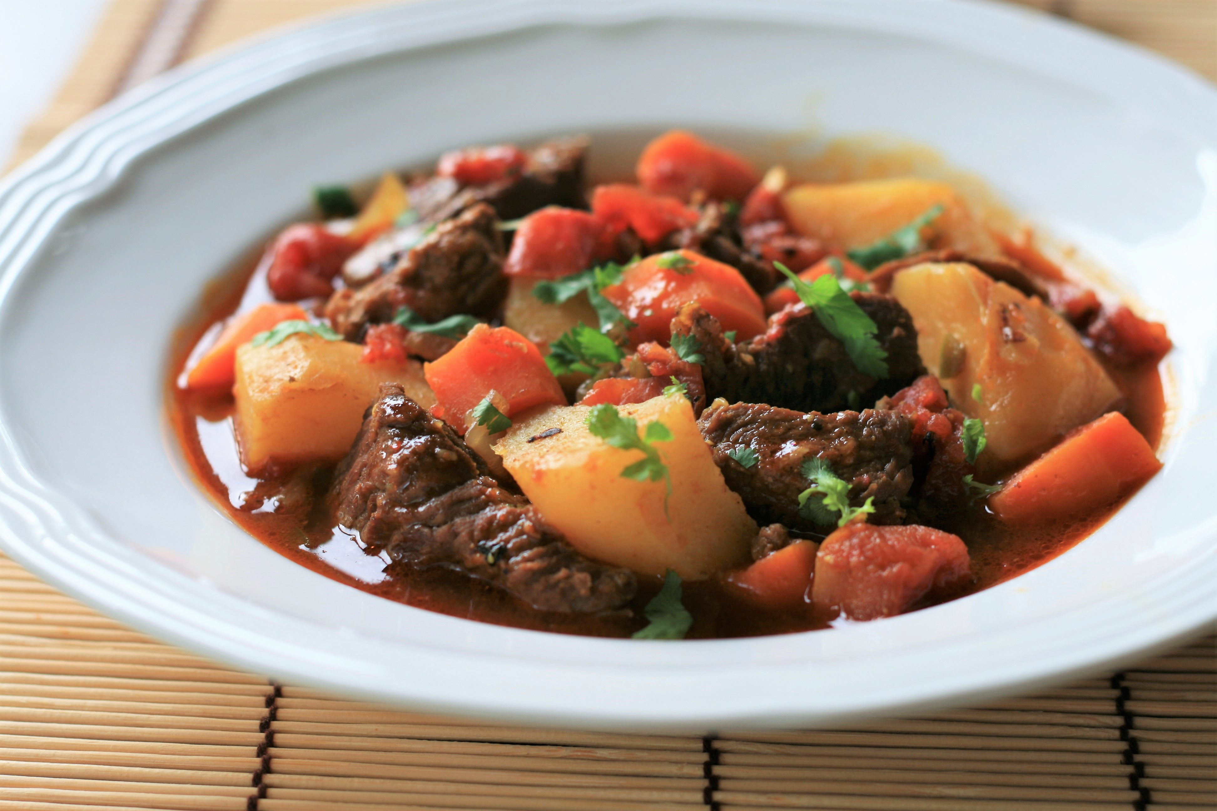 Instant Pot® Spicy Beef Curry Stew