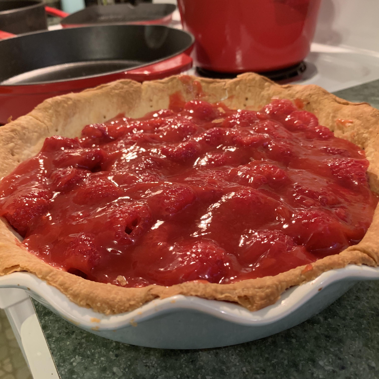 Summer Fresh Raspberry Pie