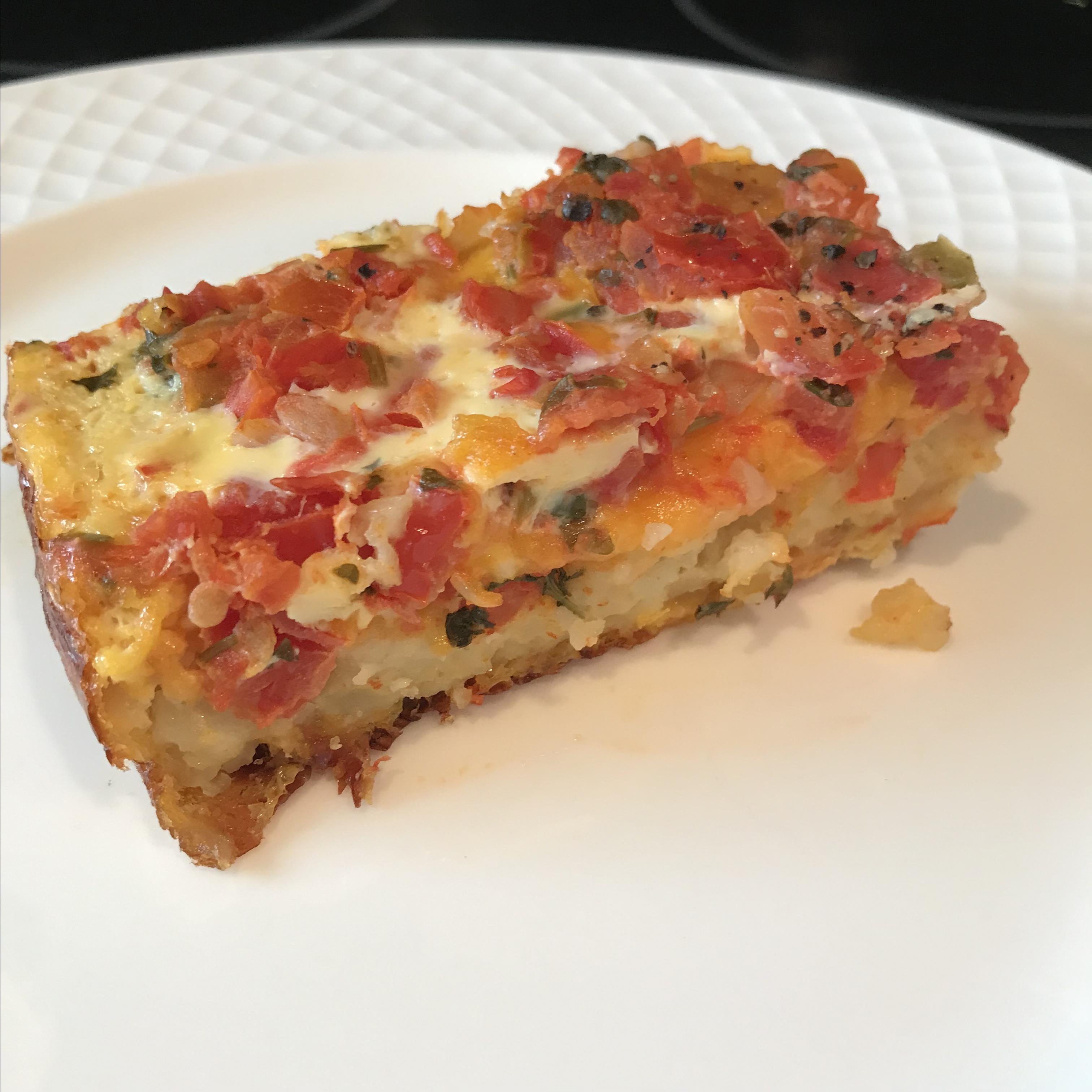 Vegetarian Hash Brown Casserole