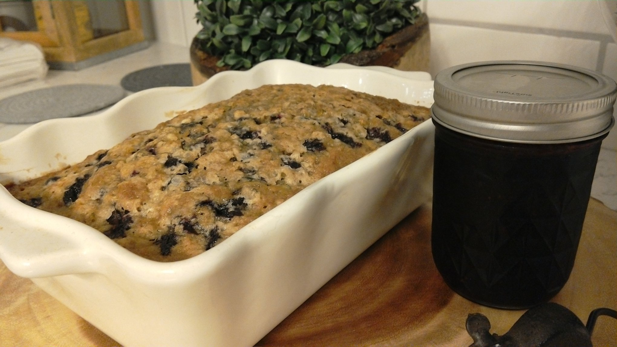 Blueberry Zucchini Bread TLHGWP