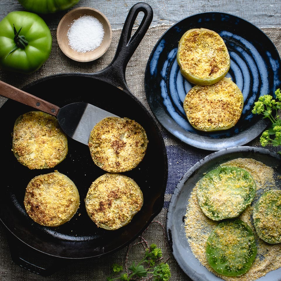 Fried Green Tomatoes EatingWell Test Kitchen