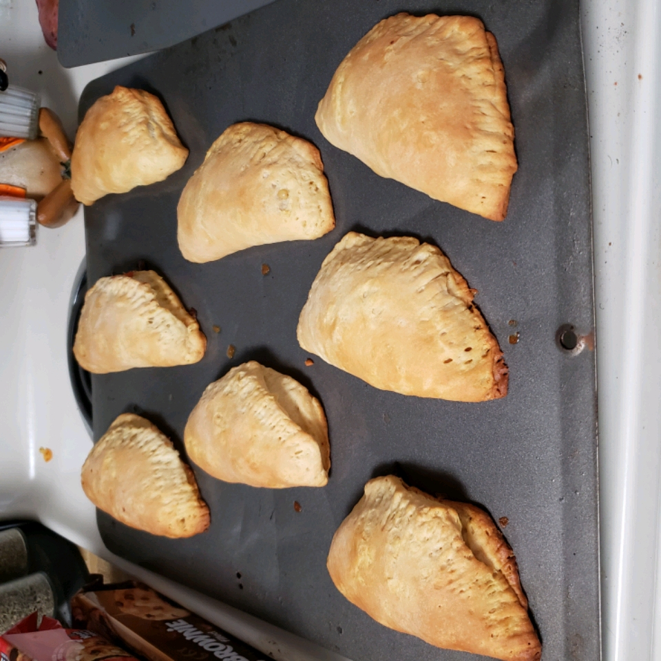 Easy Hand-Held Chicken Pot Pies