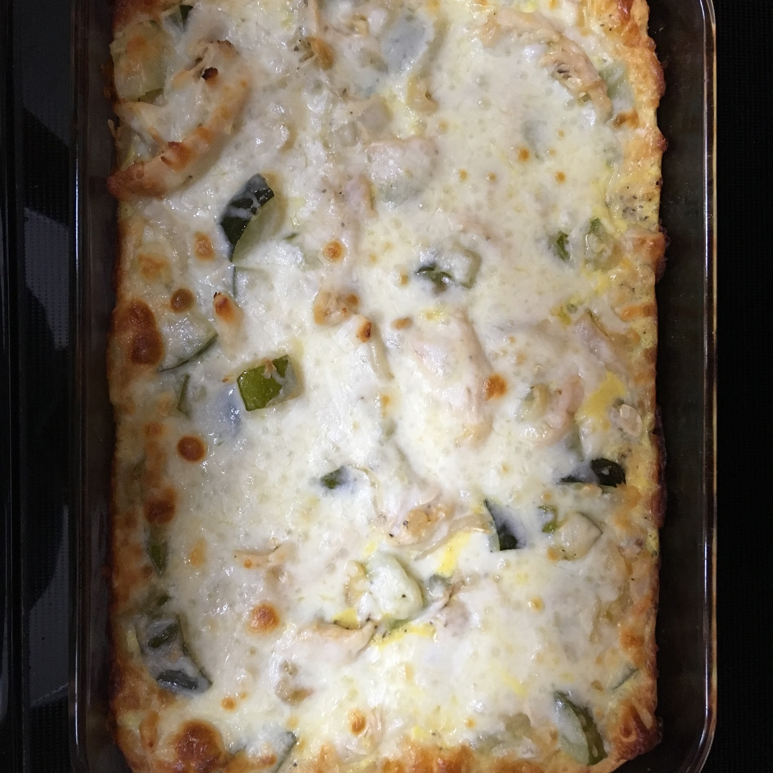 Chicken Zucchini Bake Chris K