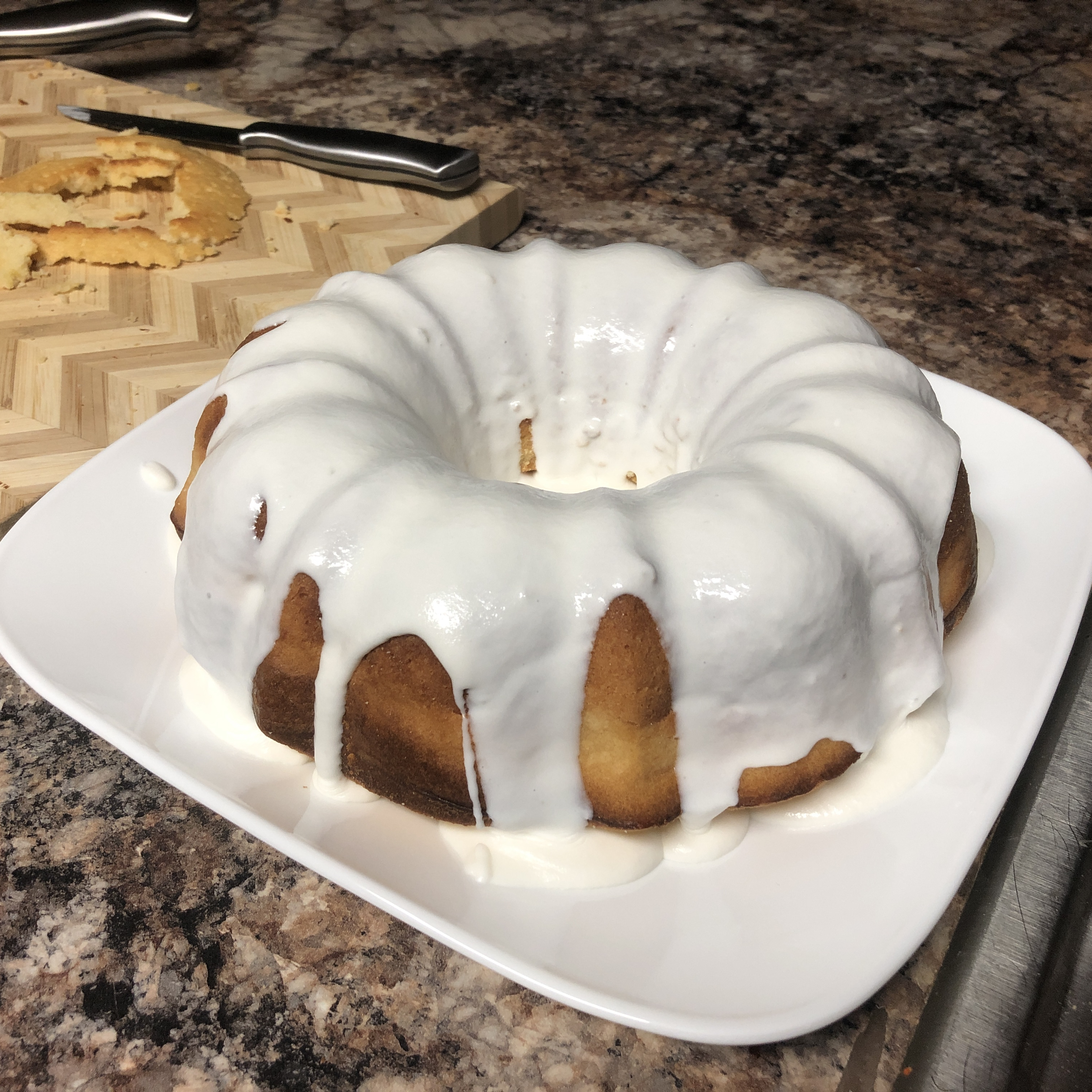 Key Lime Rum Cake Laura Eckart