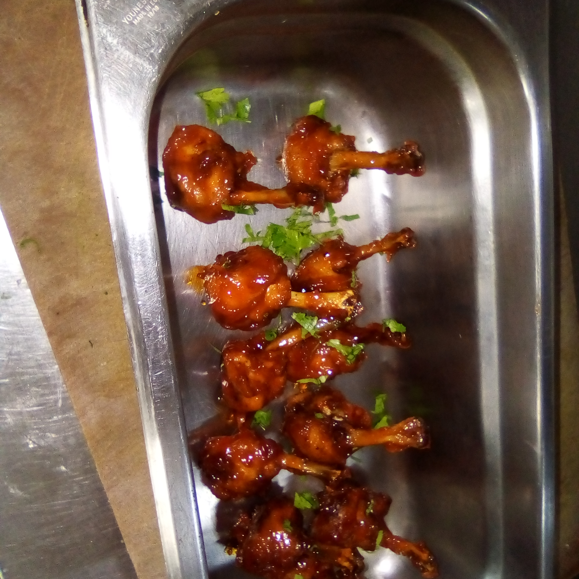 Sweet and Sticky Wings Kigoonya Isaac
