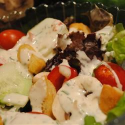 Ranch Dressing with Fresh Herbs