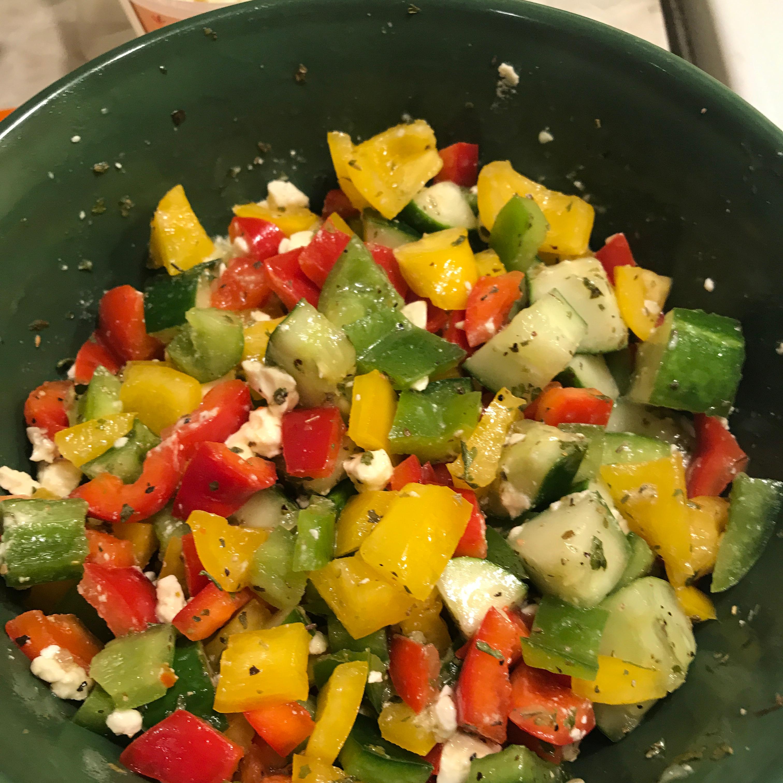 Summer Pepper Salad Joanne Kent