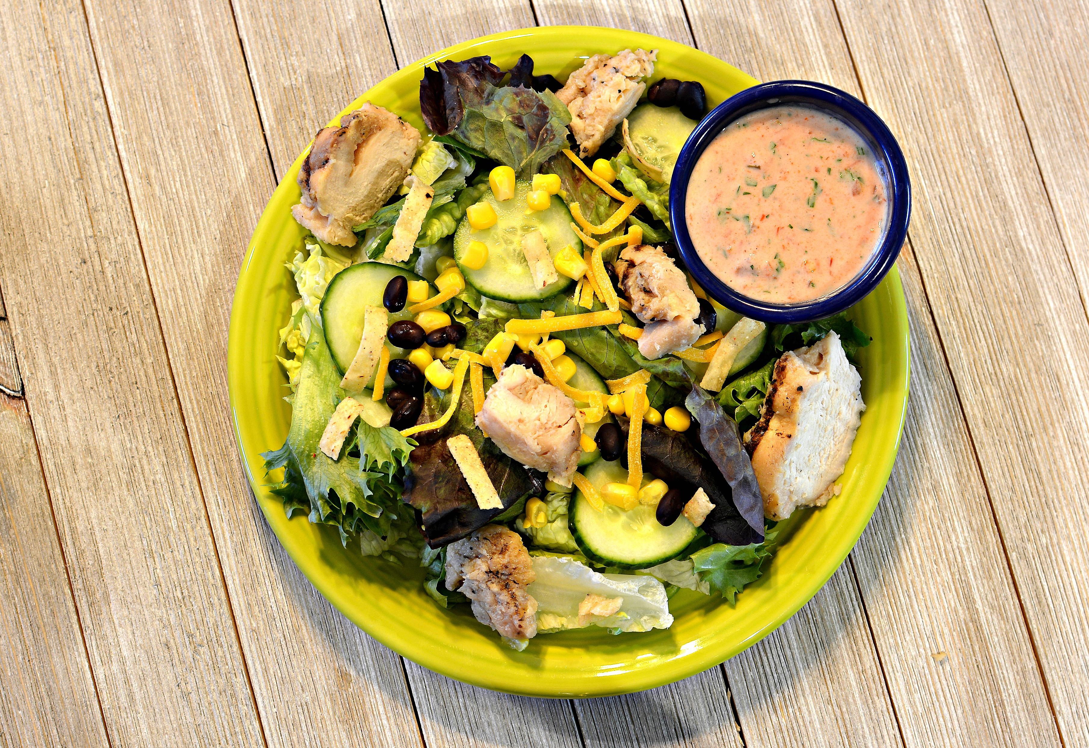 Fiesta Grilled Chicken Salad