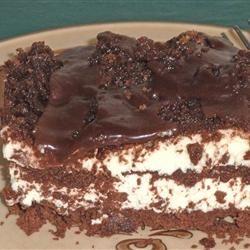 No-Bake Chocolate Eclair Cake Lucky Noodles