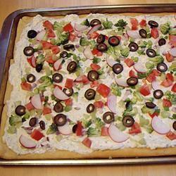 Vegetable Pizza I