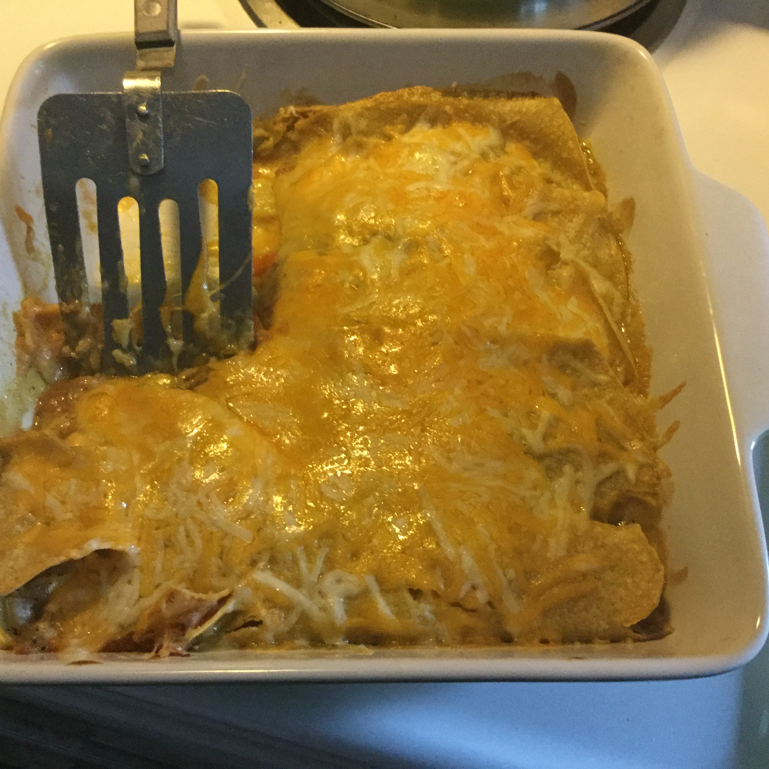 Black Bean and Veggie Enchiladas