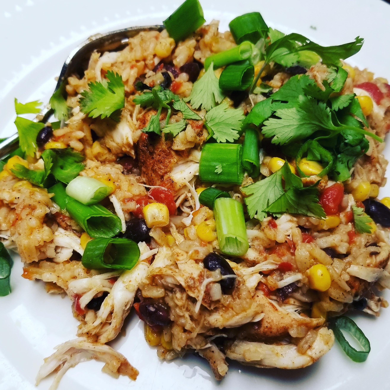 Instant Pot® Chicken Taco Bowl