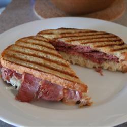 Broiled Reuben Sandwich CandiceSteele