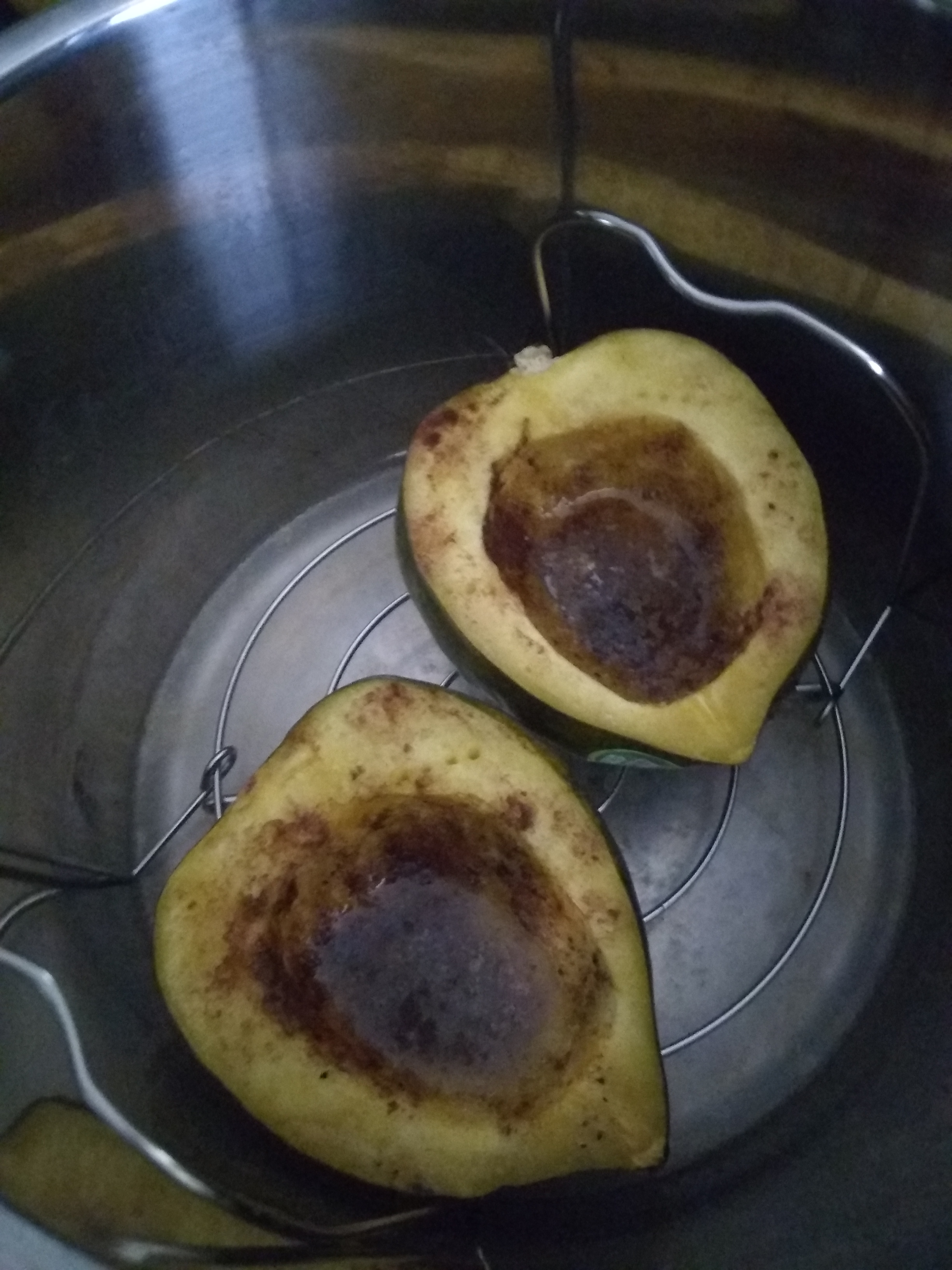 Instant Pot® Sweet Acorn Squash Write On