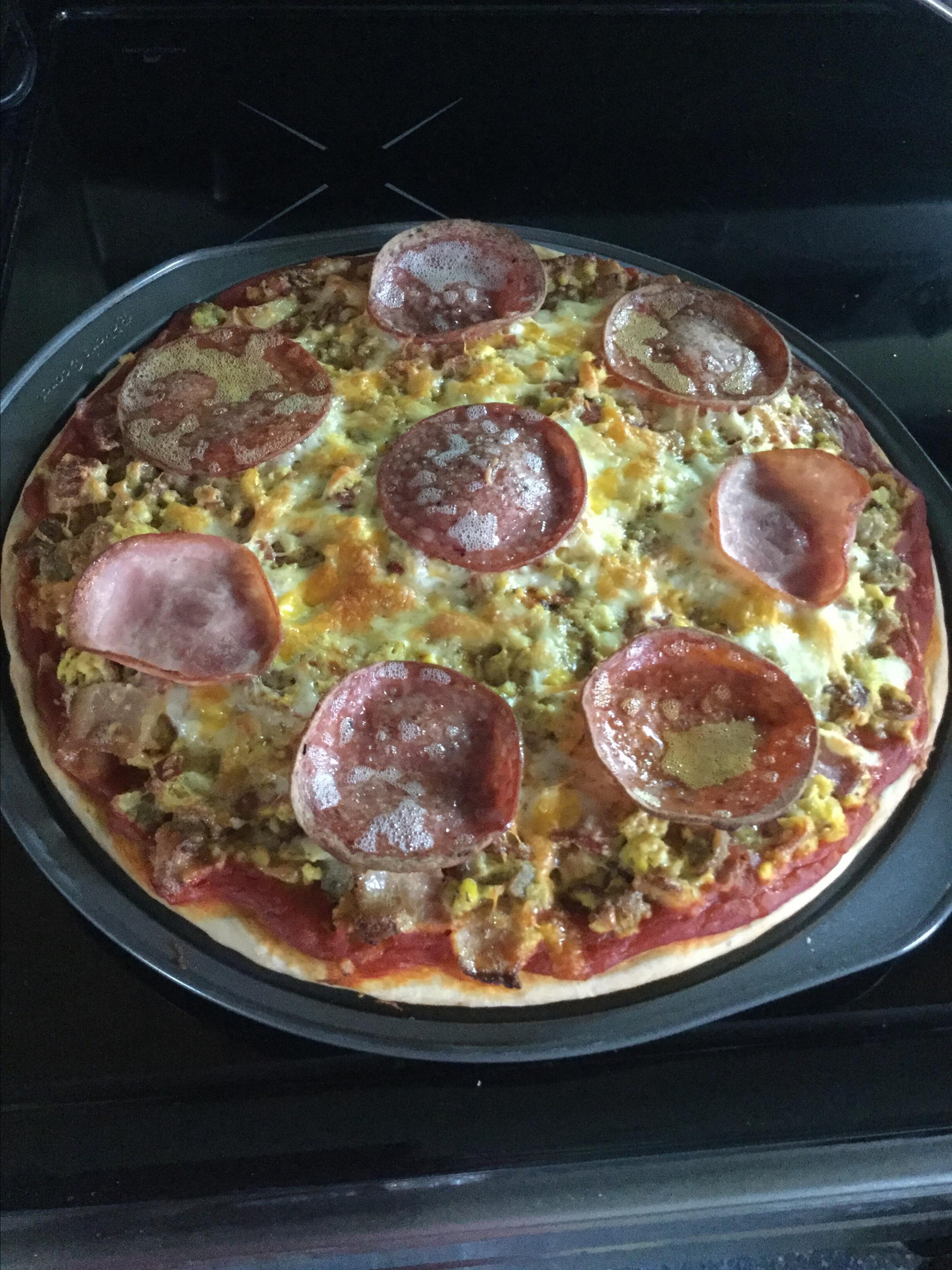 Scrambled Pizza Yolanda Humby