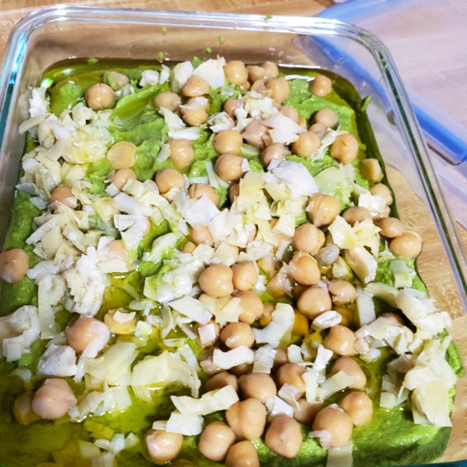 Artichoke Hummus Tara Ramo Bishop
