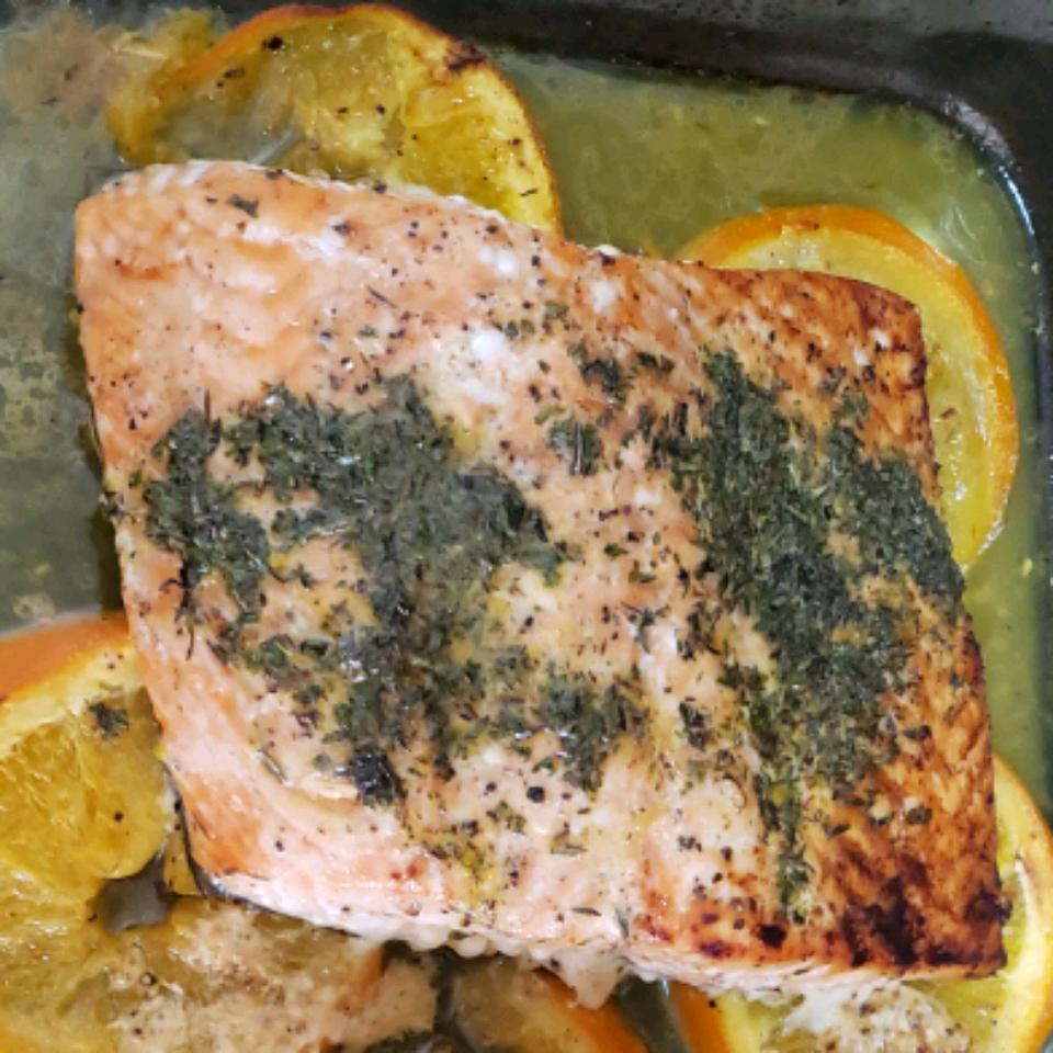 Herbed Citrus Salmon